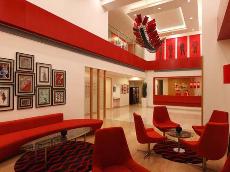 Red Fox Hotel Delhi Airport Lounge/Empfang