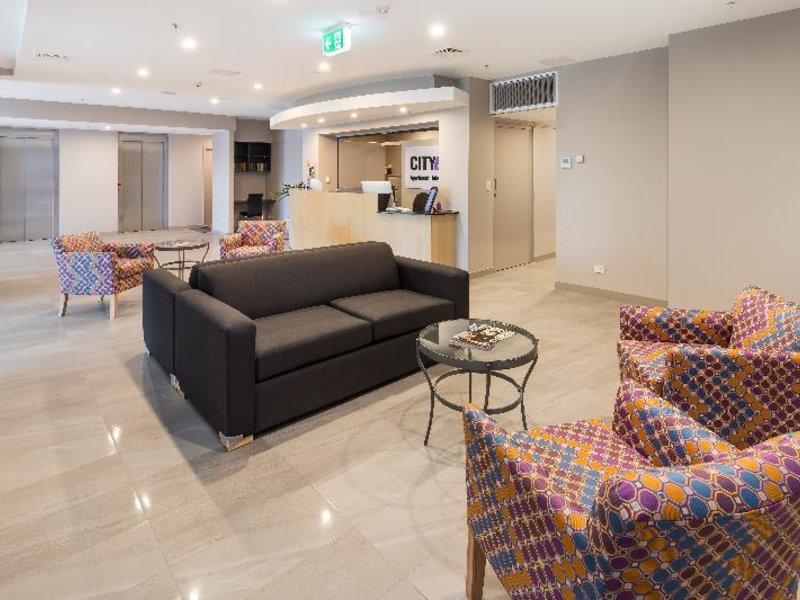 City Edge Dandenong Apartment Hotel Lounge/Empfang