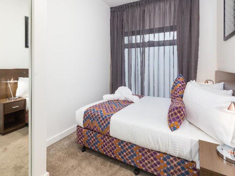 City Edge Dandenong Apartment Hotel Wohnbeispiel