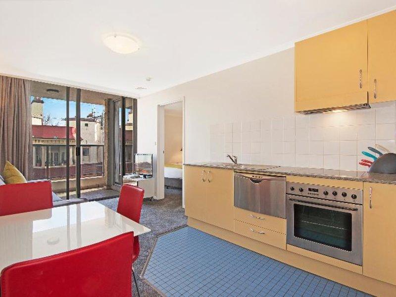 Waldorf Sydney Central Serviced Apartments Wohnbeispiel