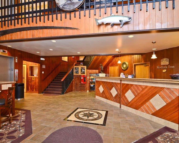 Best Western Kodiak Inn and Convention Center Lounge/Empfang