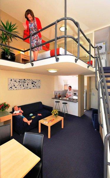 Metro Apartments on Darling Harbour Wohnbeispiel