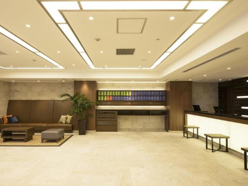 Hotel Mystays Gotanda Station Lounge/Empfang