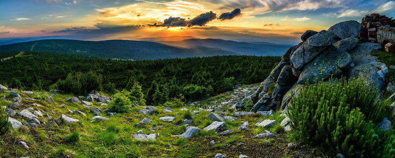 Blue Mountain Resort Landschaft