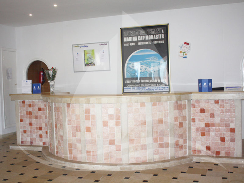 Marina Cap Monastir Lounge/Empfang