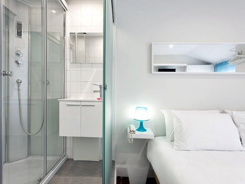 Aveiro City Lodge Badezimmer
