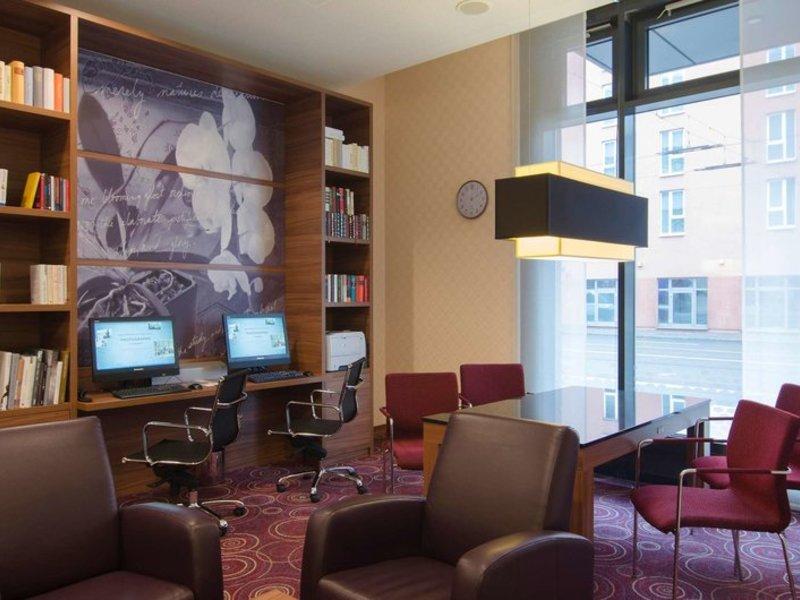 Hampton by Hilton Nürnberg City Centre Lounge/Empfang