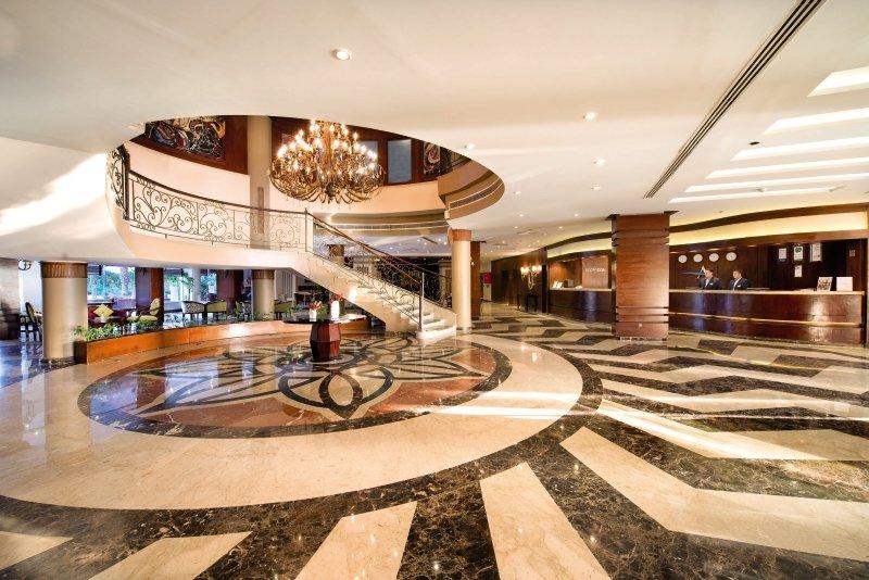Amwaj Blue Beach Resort & Spa Lounge/Empfang
