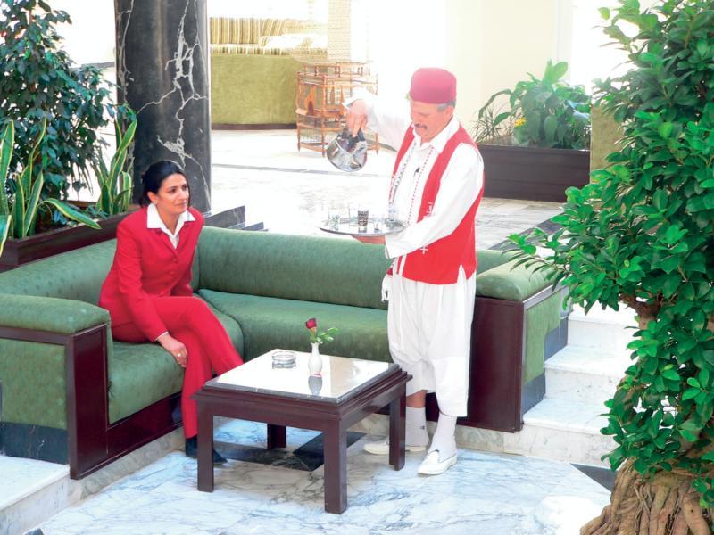 Hotel Liberty Resort Lounge/Empfang