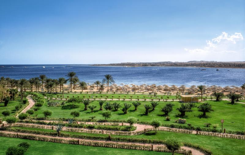 Fort Arabesque Resort & Spa, Villas & The West Bay Garten
