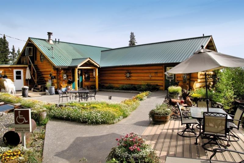 A Taste Of Alaska Lodge Terrasse