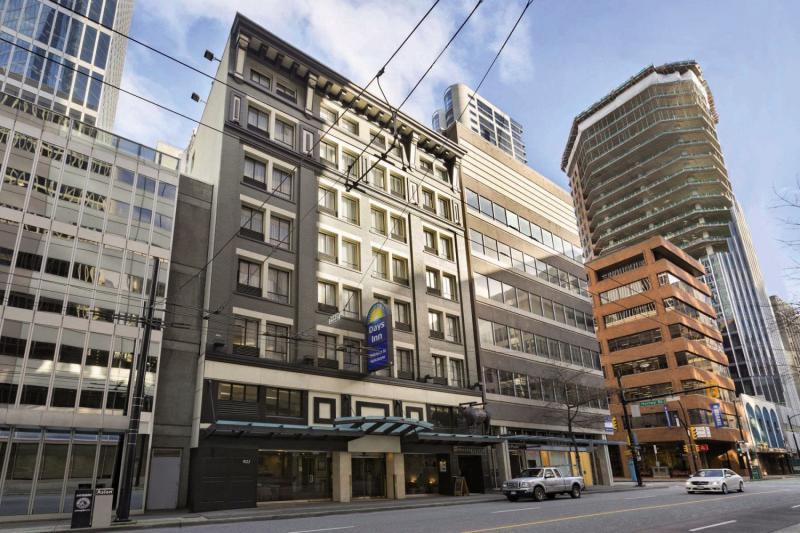 Days Inn Downtown Vancouver Außenaufnahme