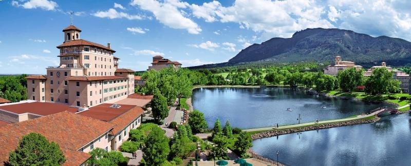 The Broadmoor Landschaft