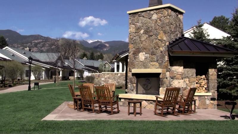 The Broadmoor Terrasse