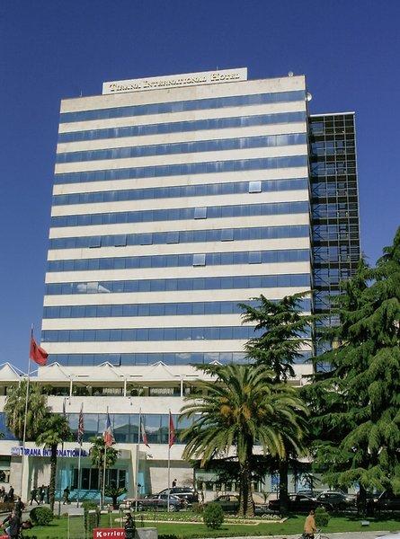 Tirana International Hotel & Conference Center Außenaufnahme
