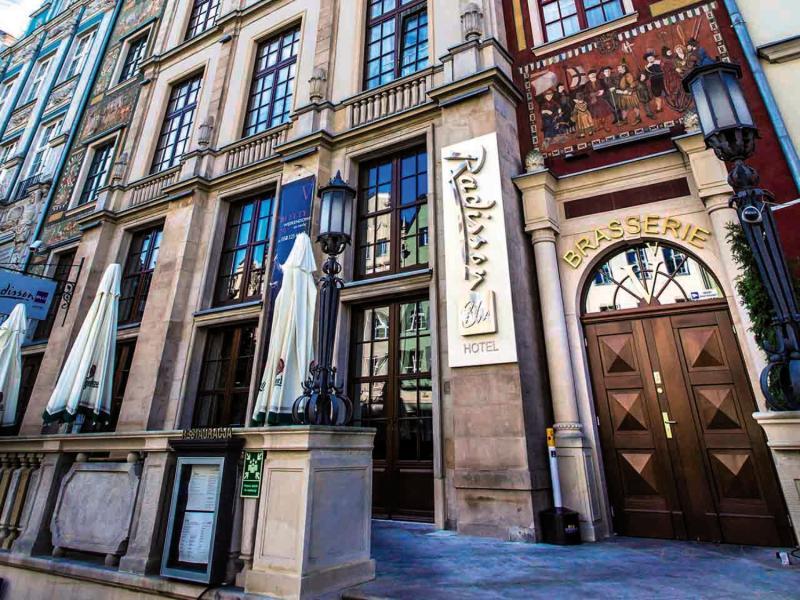 Radisson Blu Hotel, Gdansk Außenaufnahme