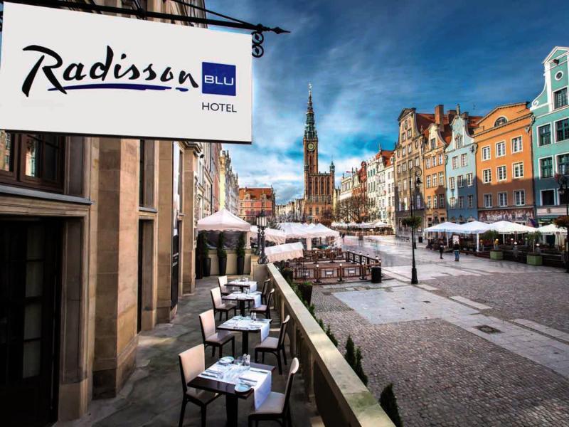 Radisson Blu Hotel, Gdansk Terrasse