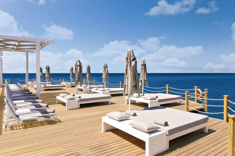 Sirene Belek Hotel Terrasse