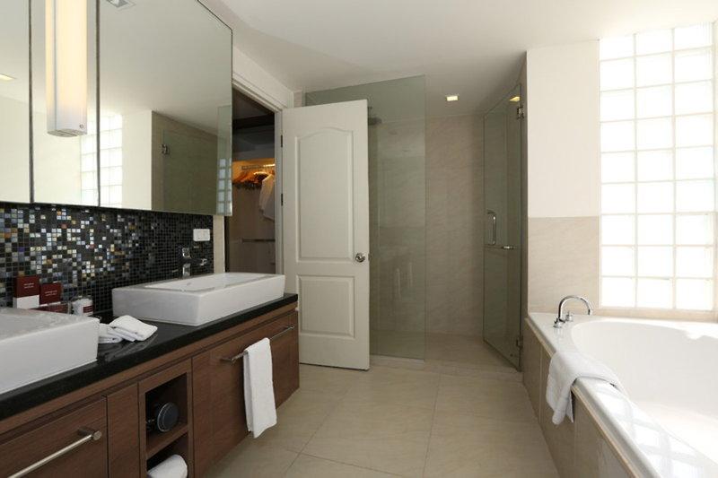 Bangna Pride Hotel & Residence Badezimmer