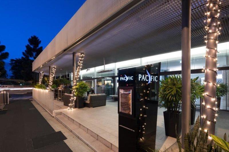 Pacific Hotel Brisbane  Terrasse