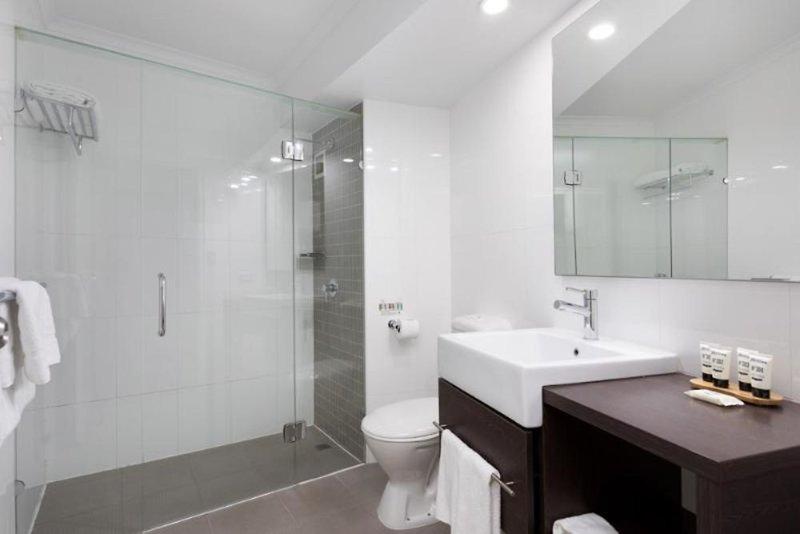 Pacific Hotel Brisbane  Badezimmer
