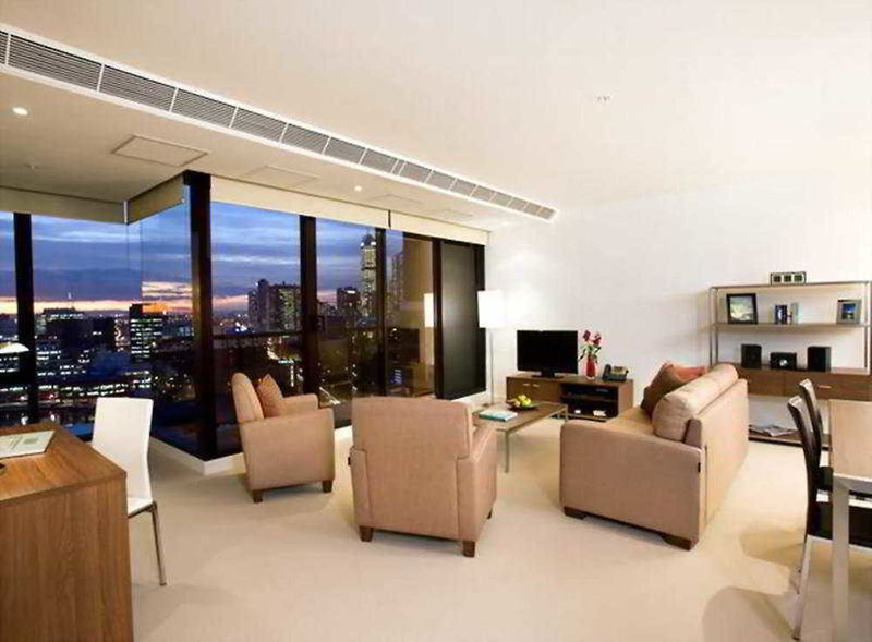 Melbourne Short Stay Apartments Whiteman Street Lounge/Empfang