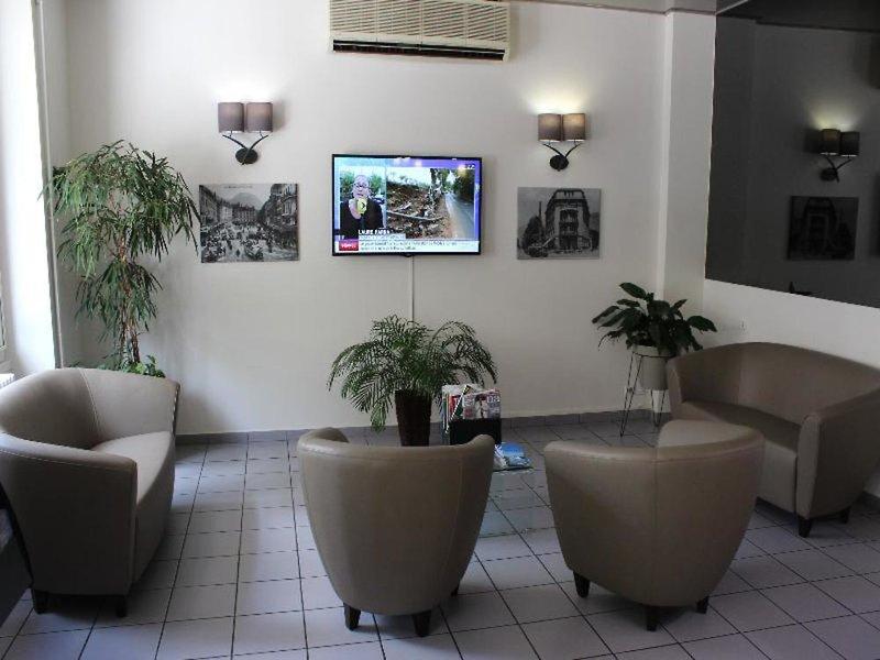 Inter-Hotel Gambetta Lounge/Empfang