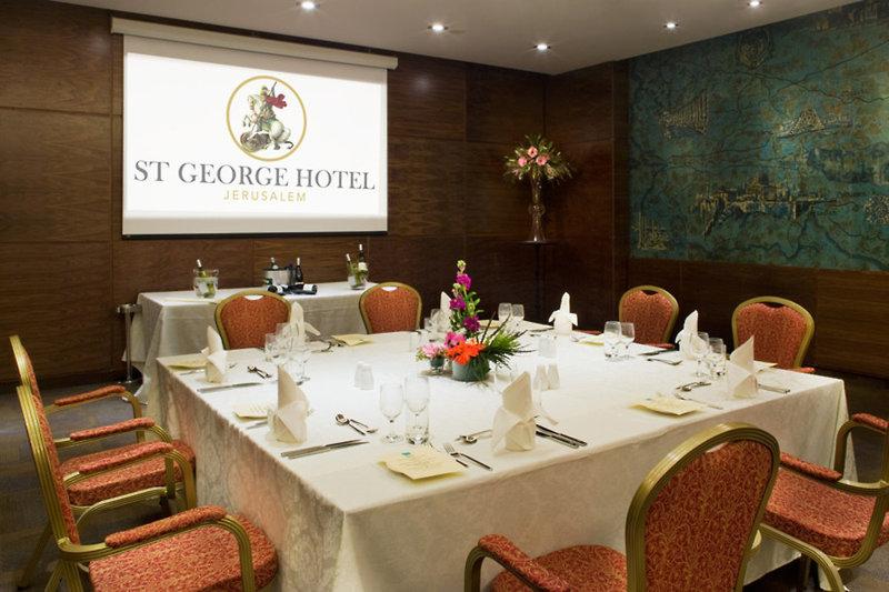 St.George Hotel Jerusalem Konferenzraum