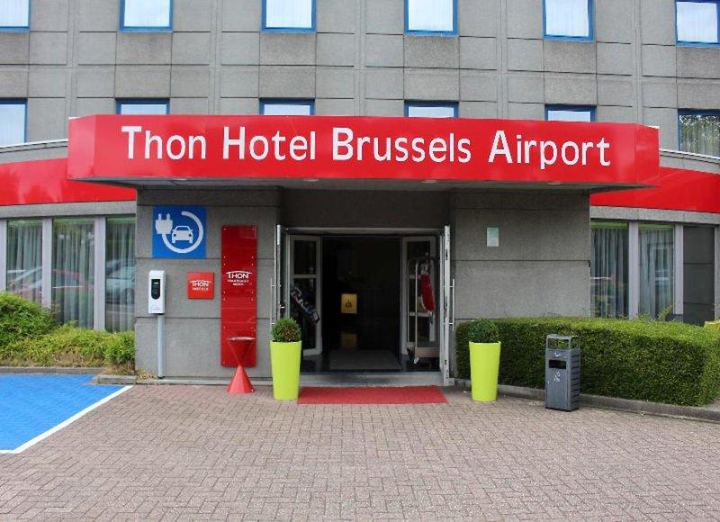 Thon Brussels Airport Außenaufnahme