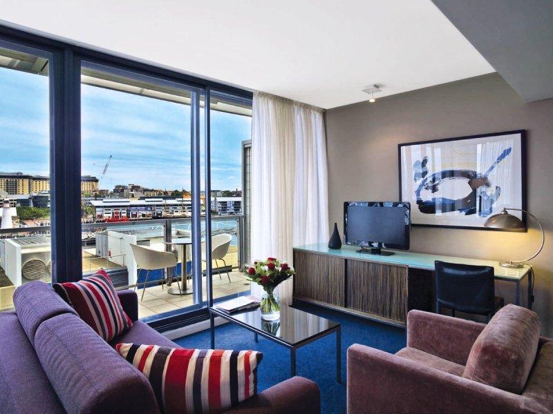 Adina Apartment Hotel Sydney Darling Harbour Wohnbeispiel