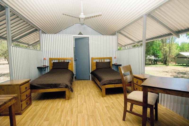 Davidson´s Arnhemland Safaris Terrasse