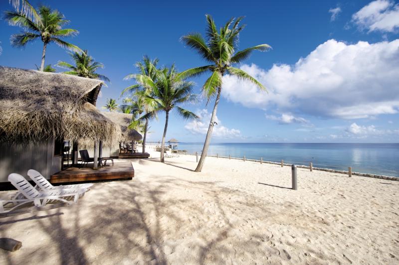 Le Maitai Rangiroa Resort Strand