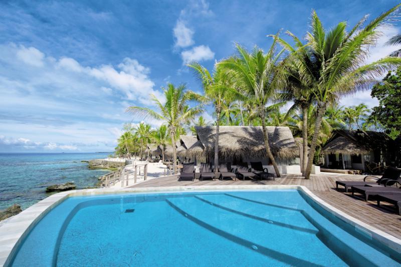Le Maitai Rangiroa Resort Pool
