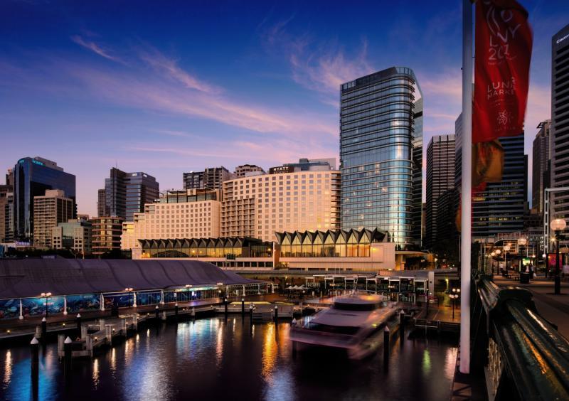 Hyatt Regency Sydney Terrasse
