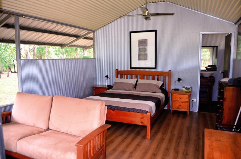 Davidson´s Arnhemland Safaris Lounge/Empfang