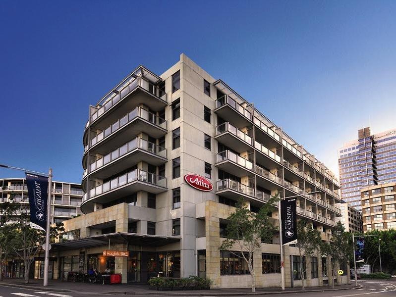 Adina Apartment Hotel Sydney Darling Harbour Außenaufnahme