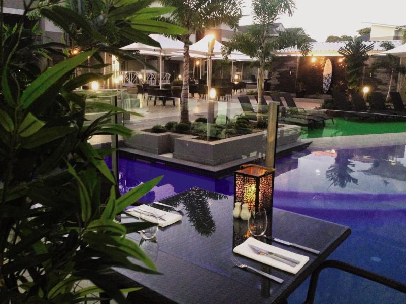 Lagoons 1770 Resort & Spa Terrasse