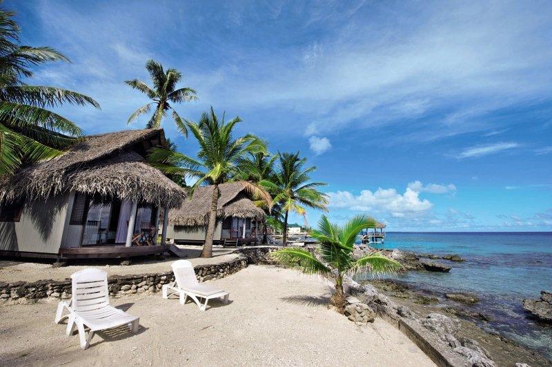 Le Maitai Rangiroa Resort Außenaufnahme
