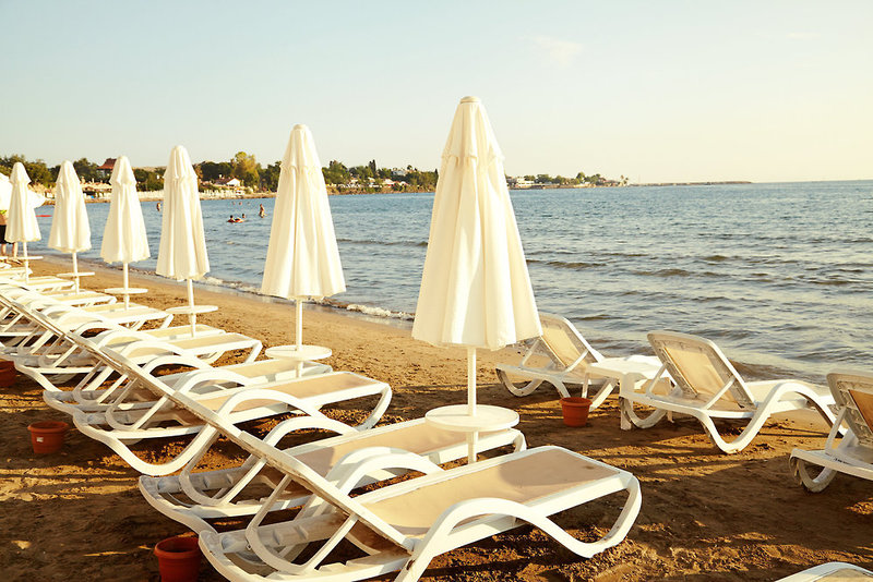 Sunprime Dogan Side Beach Terrasse