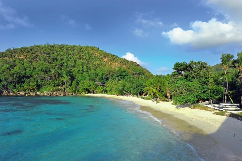 Constance Lemuria Praslin, Seychelles Strand