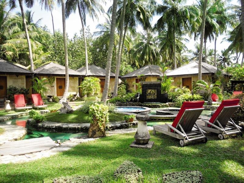 Bandos Maldives Garten