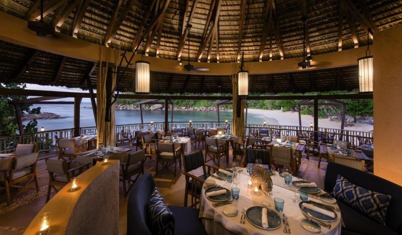 Constance Lemuria Praslin, Seychelles Restaurant