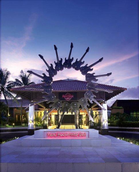 Hard Rock Bali Außenaufnahme
