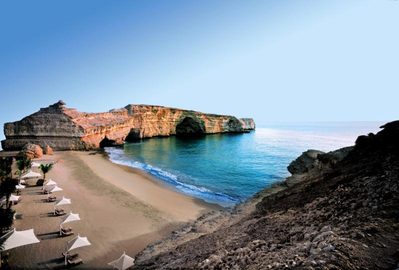 Shangri-La Al Husn Resort & Spa Strand