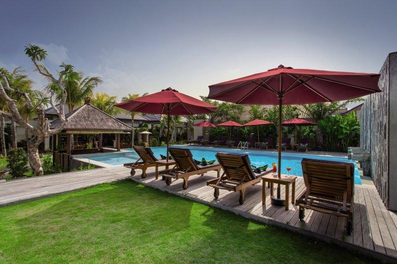 Lumbini Luxury Villas & Spa Terrasse