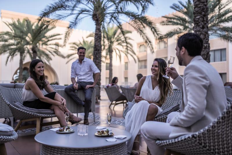 Shangri-La Al Husn Resort & Spa Terrasse