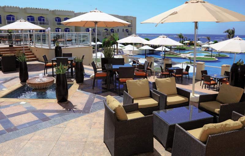 KAIRABA Mirbat Resort  Terrasse