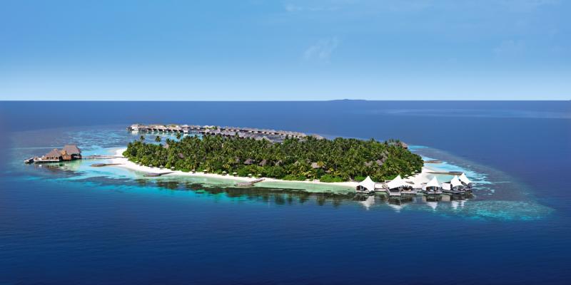W Retreat & Spa Maldives Landschaft