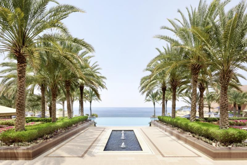 Shangri-La Al Husn Resort & Spa Garten