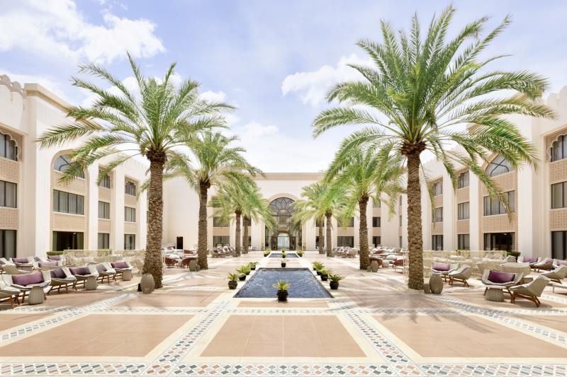 Shangri-La Al Husn Resort & Spa Außenaufnahme